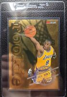 1996 NBA HOOPS #3 GOLD FOIL KOBE BRYANT ROOKIE CARD RC LOS ANGELES LAKERS
