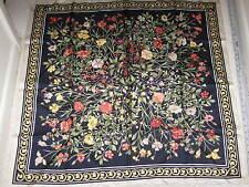Vintage Jim Thompson Silk Floral Scarf