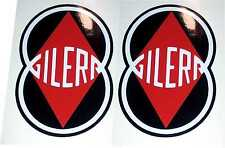 ADESIVI LOGO GILERA D'EPOCA ANCHE GIUBILEO 98 stickeers aufkleber autocollant