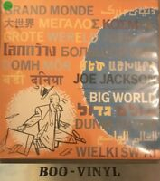 Joe Jackson Big World 2-LP vinyl record (Double Album) UK JWA3 A&M 1986 Ex