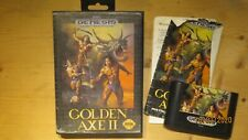 Golden Axe II (2) for Sega Megadrive (Genesis version). Boxed with Manual.