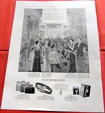 LOUIS VUITTON / ELEGANCE / LIDO / 1930  / MAROQUINERIE   / PUBLICITE ANCIENNE 8