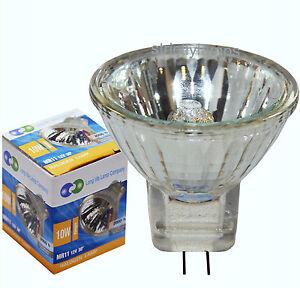 5 Pack 10w  MR11 Halogen Spot Lamp Light Bulbs 12v  Low Voltage