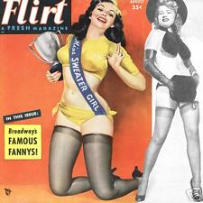 FLIRT Robert Harrison Magazine 1952 heels stockings pinup e-book on CD