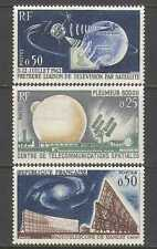 Francia 1962 satélite/espacio/TV/radio/Telstar 3v n24514