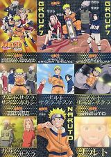 NARUTO NINJA RANKS 2005 PANINI INKWORKS COMPLETE BASE CARD SET OF 72 AN