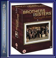 BROTHERS AND SISTERS - COMPLETE SERIES 1 2 3 4 & 5 *BRAND NEW DVD BOXSET*