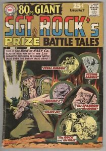 Eighty-Page Giant #7 February 1965 VG- Sgt Rock's Prize Battle Tales