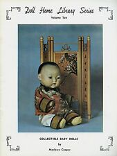 Antique Baby Infant Bisque Head Character Dolls / Scarce Illustrated Booklet