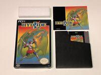 Hydlide Nintendo Nes Complete CIB Excellent Condition Authentic