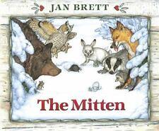 The Mitten by Jan Brett Hardcover Book NEW