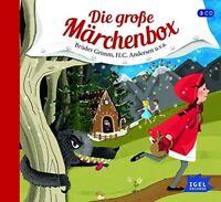 BRÜDER GRIMM/H.C.ANDERSEN/+ - DIE GROßE MÄRCHEN-BOX 3 CD NEU