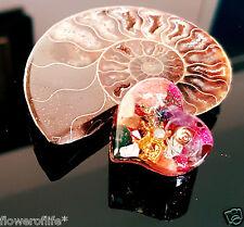 Orgonite Orgone Heart Healing Reiki chakra Ornament ornament decoration STONE