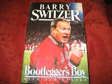 The Bootlegger's Boy : My Story by Bud Shrake and Barry Switzer (1990, HD) SIGND