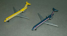 Two 1/450 Scale Boeing 727 Passenger Jet Diecast Aircraft (Global Link Airlines)