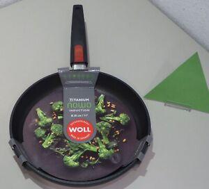 WOLL Titanium Nowo 28cm Induktion Bratpfanne - Schwarz (1528IL)