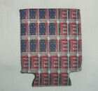 Coolie Cozies Koozie Budweiser Cans USA Flag Theme Beer Soda Bottle Can Holder