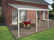 Pergola DIY Kit 4x4m Patio Cover Outdoor Terrace Roof Carport Shelters -