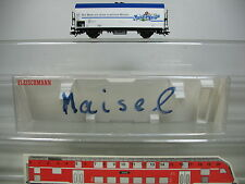 AG279-0,5# Fleischmann H0/DC 5345 K Furgoneta cerveza Maisel's Blanco NEM KK, W+