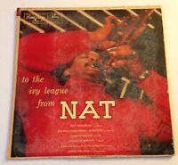 NAT ADDERLEY: TO THE IVY LEAGUE FROM NAT emarcy LP / MONO DG DRUMMER NM