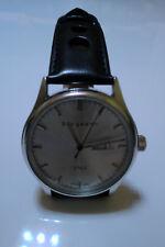 BERGMANN 1965 Germany Bauhaus - Sammlerstück – NEU Flieger Uhr Armban schwarz