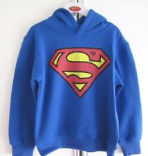 SUPERMAN HOODIE CHILDS SIZE 4-5 OFFICIAL DC COMICS PRODUCT R.R.P $30 BNWT