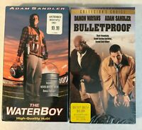 The Water Boy and Bullet Proof 2 New VHS lot with Adam Sandler Damon Wayans