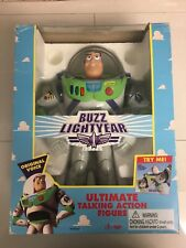 Toy Story 1995 Thinkway BUZZ LIGHTYEAR Ultimate Talking Action Figure ORIGINAL