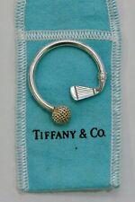 Golf Keychain - w/ Cloth Bag Tiffany & Co. - Sterling Silver