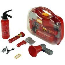 Klein Feuerwehr-Koffer Feuerwehrkoffer Jungen Kinder Kinderkoffer Spielzeug Set