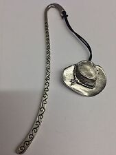 Stetson Hat PP-W07 Pattern Bookmark 3D English pewter charm