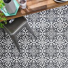 Devon Stone Black Feature 33x33 Tile NEW