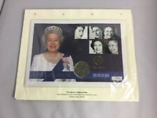 Grand FDC 2002 £ 5.00 coin FDC le Queen's Golden Jubilee Gold déjouée Limited Edt