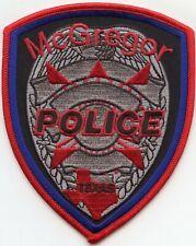 McGREGOR TEXAS TX POLICE PATCH