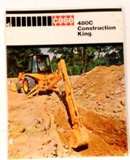 CASE, 480C Construction King Sales Brochure