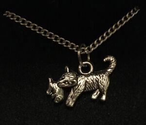 Cat Pendant Necklace (2)