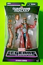 """Marvel Legends Guardians of the Galaxy 6"""" Star-Lord Peter Quill (Groot BAF)- NEW"""