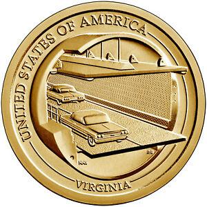 2021-P American Innovation $1 Coin - Virginia