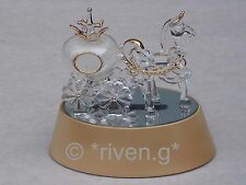 HORSE AND CARRIAGE CINDERELLA CAKE TOPPER GIFT@Wedding Light-Up TABLE DECORATION