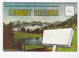 POSTCARD FOLDER-MOUNT RAINIER