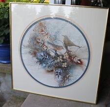 Donna Petcoff Watson - Florida Listed Artist -Original Bird Mixed-Media Art