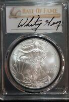 2010  America Silver Eagle $1 Dollar 1oz PCGS MS70 Whitey Herzog 1of 50