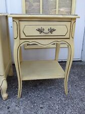 Henry Link Nightstand French Provincial Hollywood Regency Country with 1 drawer