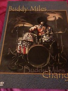 BUDDY MILES Changes 2006 DVD & CD Jimi Hendrix POST FREE