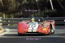 Ronnie Peterson Scuderia Filipinetti Lola T212 Barcelona 1000 K 1971 Photograph