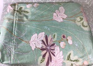"JOHN LEWIS Jonelle 'Sapporro' Cotton Fabric Green Floral 56"" Wide x 12m"
