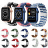 For Apple Watch Series 6 5 4 3 SE iWatch Braided Band Strap Sports Solo Loop
