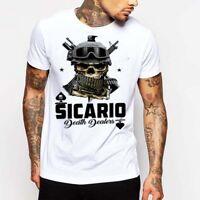 Gangster T-Shirt Drug Cartel Assassin El Chapo Pablo Escobar Narco Mafia Mob Tee