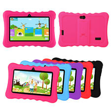 """Flexible Shockproof Soft Silicone Case Cover With Stand For 7"""" Inch Kids Tablet"""