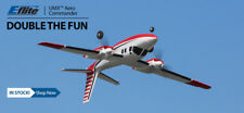 BRAND NEW E-FLITE EFLITE UMX AERO COMMANDER BNF BASIC RC AIRPLANE AS3X EFLU5850